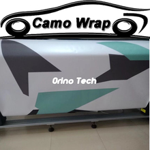 Jumbo Black Green White Camouflage Vinyl Film Roll Car Styling Motorcycle Truck Car Body Wrap Foil Air Bubble Free(China)