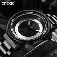 Original Break Photographer Creative Unique Watches Men Luxury Brand Fashion Casual Sports Quartz Watch Relogio Masculino 2016