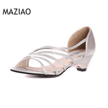 new women sandals in the summer with sandals fish head shoes hollow shoes mom shoes