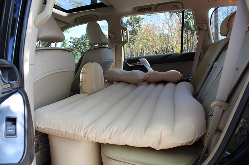 DHLFree Shipping 2015 Newest Car Back Seat Cover Car Air Mattress Travel Bed Inflatable adult Bed Car Bed+Air Pump
