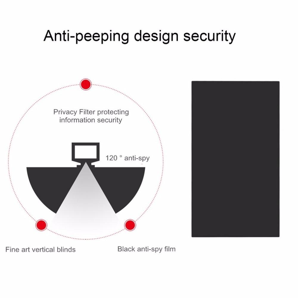 17 Pollici Filtro Privacy Anti abbagliamento peeping Pellicola Protettiva Schermo per Laptop 16:9