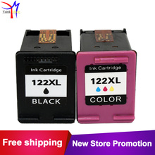 BK&TRI-COLORS for hp 122 Ink Cartridge Compatible for HP 122XL Deskjet 1510 1000 1050 2000 2050 3000 3050A 3052A 3054A printer(China)