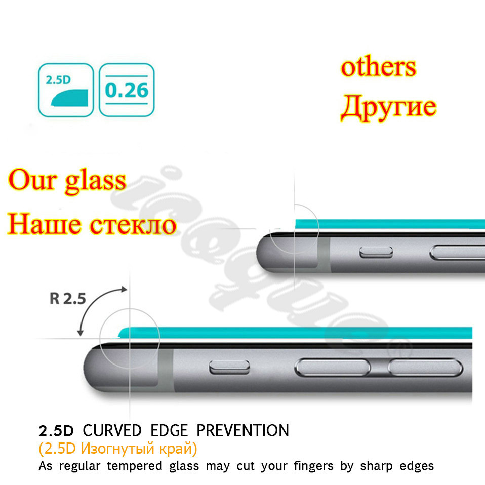 Icoque 9H 2.5D Tempered Glass for LG K10 2017 Glass Display M250 Phone Protective Film for LG K10 2017 Screen Protector Glasses (5)