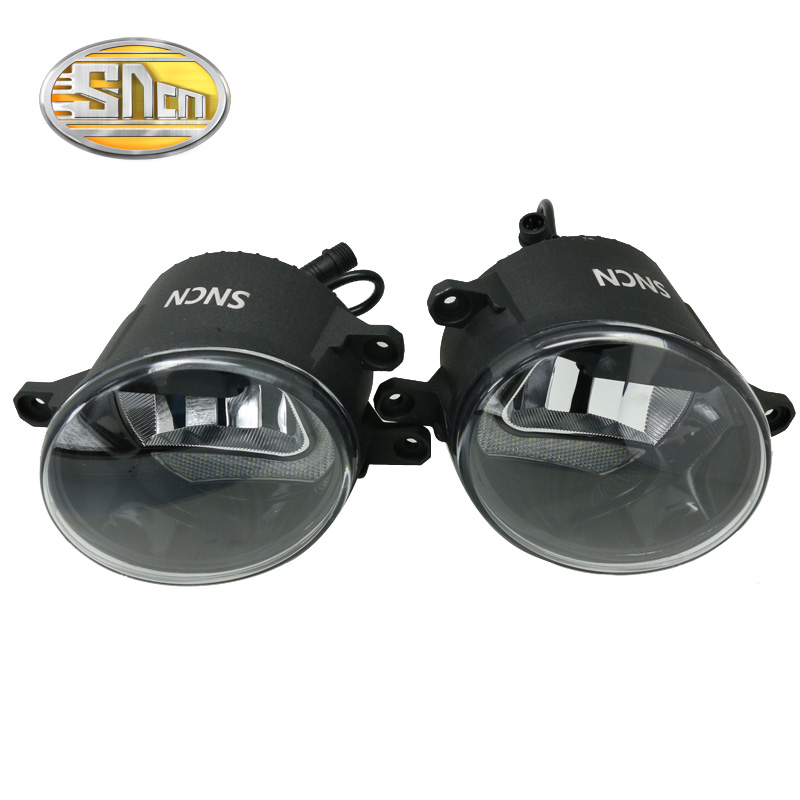 Safety Driving SNCN Foglight Upgrade 2-IN-1 Highlight LED Daytime Running Light Fog Lamp For Lexus IS250 IS300 IS350 2011 - 2017<br>