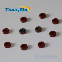 Tangda Iron powder cores T30-2 OD*ID*HT 7.8*3.8*3.3 mm 4.3nH/N2 10uo Iron dust core Ferrite Toroid Core Coating Red gray