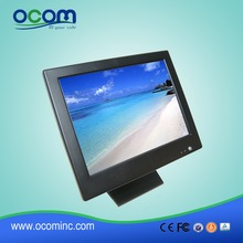TM1502: Hot 15 Touch Screen POS Monitor Display With Metal Folded Stand