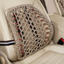 Car Cushion Pad Interior Accessories Car Styling Universal Mesh Seat Massage Back Ice Silk Summer Auto Cushion Seat Supports(China)