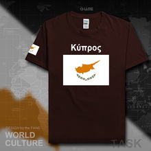 Cyprus men t shirt 2017 jerseys nation team tshirt cotton t-shirt gyms clothing top tees country fashion flag CYP Cypriot Greek
