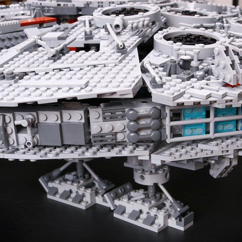 LEPIN-05033-5265Pcs-Star-Wars-Ultimate-Collector-s-Millennium-Falcon-Model-Building-Kit-Blocks-Bricks-DIY (4)