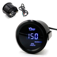 "BYGD Practical 2 ""52mm Digital Bandwidth 12 V Oil Pressure Sensor / Auto Gauge / Auto Meter Oil Pressure Gauge(China)"