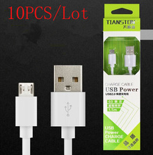 (BH115610AM)(10PCS/Lot by AM)100% High Quality Universal 1.5M USB Charger Data Sync Cable for Samsung etc Android Phone