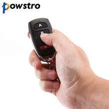 Powstro Wireless Remote Control 433mhz Electric Garage Door Control Hot Apply Universal Motorcycle Car Anti-Theft Industrial(China)