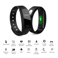 QS80 Fitness Tracker Wireless Smart Wristband Activity Trackers Blood Pressure Heart Rate Monitor Sport Smart Bracelet Swimming