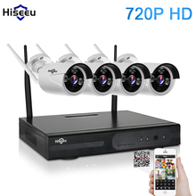 720P Wireless CCTV System 4ch wifi NVR Powerful Wireless NVR IP Camera  Bullet CCTV Camera Home Security System Surveillance Kit