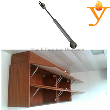 Open and close cupboard cabinet gas spring air pressure furniture hinge with 80N/8KG force A06