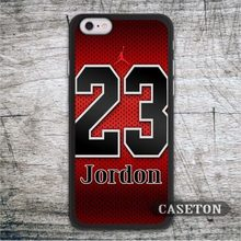 Michael Jordan 23 Case For iPhone 7 6 6s Plus 5 5s SE 5c 4 4s and For iPod 5 Classic Basketball Star Ultra Phone Cover