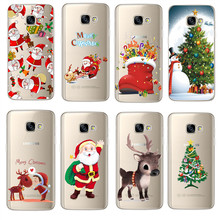 Christmas navidad noel Santa Claus For Samsung Galaxy J1 J3 J5 J7 A3 A5 2016 2017 S3 S4 S5 mini S6 S7 Edge S8 Plus Prime Case