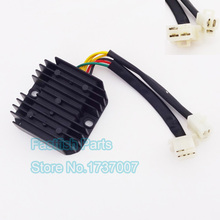 CH125 Voltage Regulator Rectifier 6 Wires  For CH 125 150 250 cc Moped Scooter Atv Quad Go Kart Motorcycle