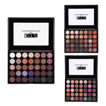 Women 35 Colors Highly Pigmented Earth Tone Eyeshadow Palette Beauty Cosmetics Makeup Set(China)
