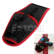 Portable Drill Holder Holst Pouch Cordless Tool Oxford Drill Waist Tool Belt Bag #G205M# Best Quality