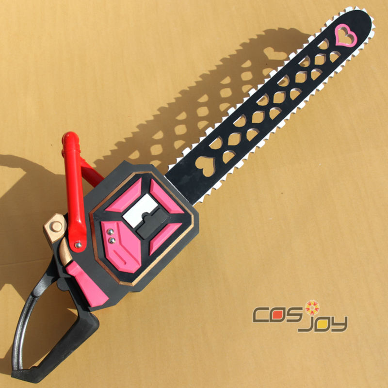 Lollipop Chainsaw Juliet Starling PVC Weapon Cosplay Prop Handmade