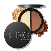 Hot Makeup Blush Bronzer High lighter 2 Diff Color Concealer Bronzer Palette Comestic Make Up(China)
