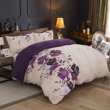 LOVINSUNSHINE Comforter Bedding Sets Queen Duvet Cover Set Luxury Flower Bedding Set AB09#(China)