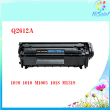 For HP Toner Cartridge Black for HP 2612 Q2612A for HP1020 1010 M1005 Q2613A Printer 1018 015 3020 3050 3052 3055  M1005 M1319F
