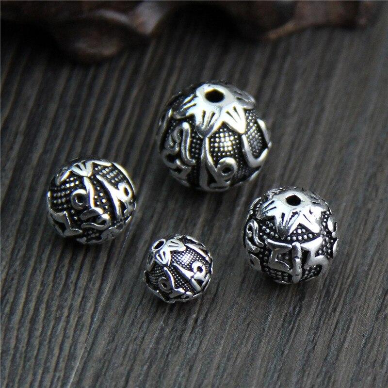 Tibetischen Silber Legierung Buddhistischen Vajry Stößel Anhänger Charms DIY Schmuck Machen 10 stücke J0713