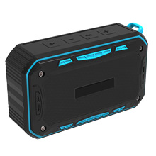 Portbale Wireless Bluetooth Speaker Outdoor Waterproof Speakers Mini Soundbar Creative Column Box Support TF Card Phone Answer(China)