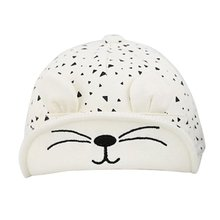 Fashion Toddler Kids Baby Beret Kitten Visor Baseball Cap Casquette Cotton Peaked Hat L07