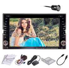 2017 New!2 DIN Car DVD GPS player for Nissan X-TRAIL Qashqai Paladin Livina Sylphy Tiida Sunny x trail radio TV bluetooth Camera(China)