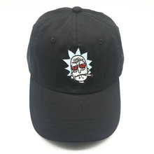 Rick and Morty Hats The New US Animation Rick Caps Dad Hat Adjustable High Quality Cotton Baseball Cap Black Beige B