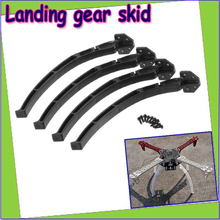 Wholesale 4pcs/set universal Aircraft Qudcopter Wheels Tripod Landing Skids Gear for  F450 F550 SK480 (1 set ) Dropship