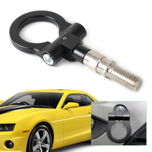 DWCX Car Racing Screw Aluminum CNC Tow Towing Hook Trailer For Subaru Forester Impreza Mitsubishi Pajero Outlander EVO Suzuki(China)