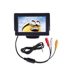 4.3'' TFT Car TV Monitor Support 480 x 272 Resolution Car Rear view Mirror System Monitor for Cars