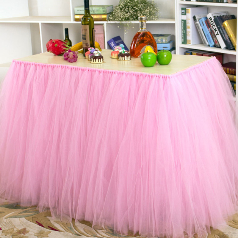 Фуршетная юбка из фатина 22