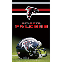 Helmt Atlanta Falcons Flag Black Red 90x150cm Banner World Series Football Team 100D Polyester Flags Banners Hanging Decoration(China)