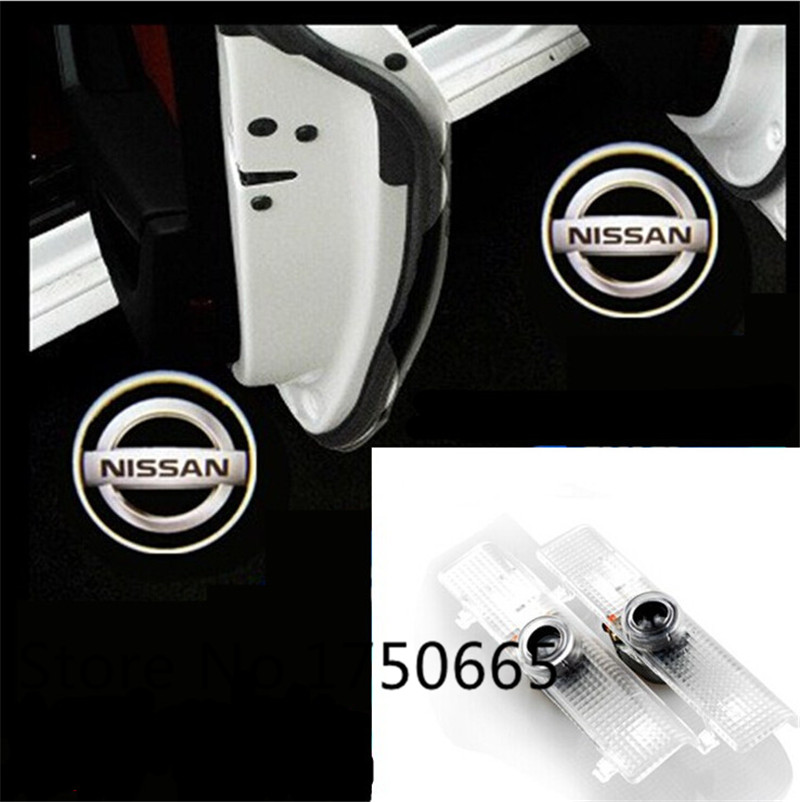 LED car Door Courtesy Ghost Shadow Logo welcome Lights For New Teana For Maxima Altima AMADAR QUEST<br><br>Aliexpress
