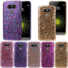 Luxury Fashion Candy Sparkling Phone Cases Covers Crystal Bling For LG G5 via China Post Registered Air Mail