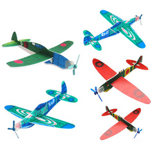 100Pcs Assorted Childhood Flying Glider Planes Toy Gift Birthday New Year Party Bag Filler