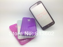Free shipping  ,for Alcatel One Touch Fierce 7024 Latest Diamond Style Soft Gel TPU Resin Skin Back Cover Case,300pcs/lot