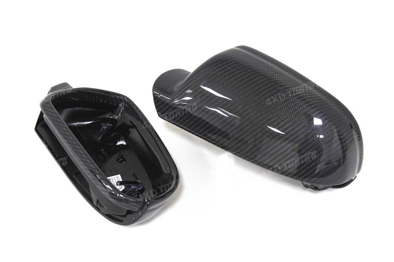 for Audi A4 B8.5 A5 S5 RS5 Carbon Fiber Mirror Cover Rear View Without Lane Assit 2010 2011 2012 2013 2014 2015 (8)