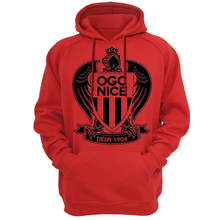 Hoodies Sweatshirt High quality handmade OGC Nice club fans Hooded Les Aiglons French France Ligue 1 Hoodie Hoody Balotelli Nice