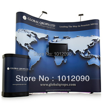 Free Shipping/Pop up stand/Pop up dispaly/Exhibition stand/Advertising display(China)