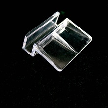 4/6/8/10/12mm Acrylic Aquarium Glass Fish Tank Fixed Cover Clip Clamp Bracket Holder Shelf Lamp Filter Barrel Rack Stand Support(China)