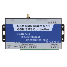 GSM SMS Controller with multi-digital inputs S140 Remote Controller System 4-way Communication Burglar(China)