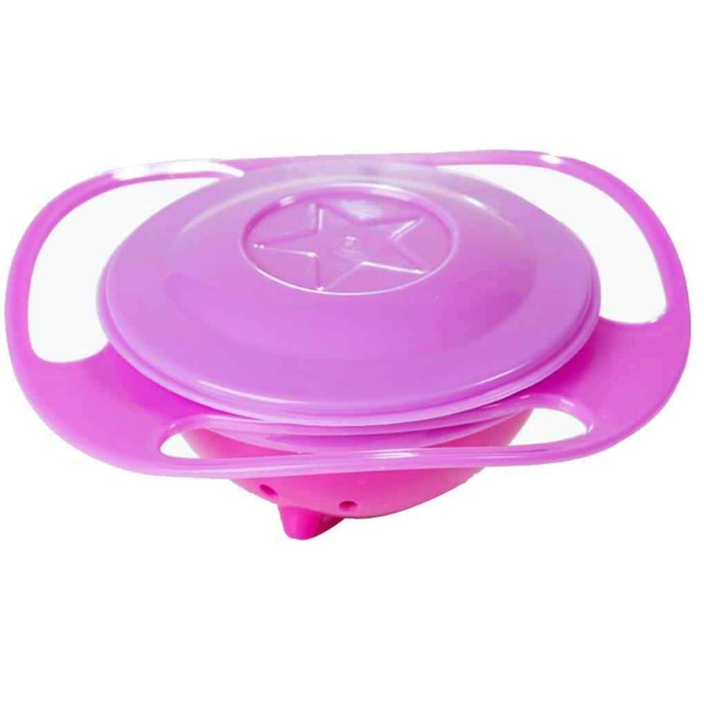 Rotaci/ón de 360 grados Platos de alimentaci/ón para beb/és Platos /únicos a prueba de derrames Vajilla para beb/és para ni/ños Tazones para giroscopios para beb/és Juguetes