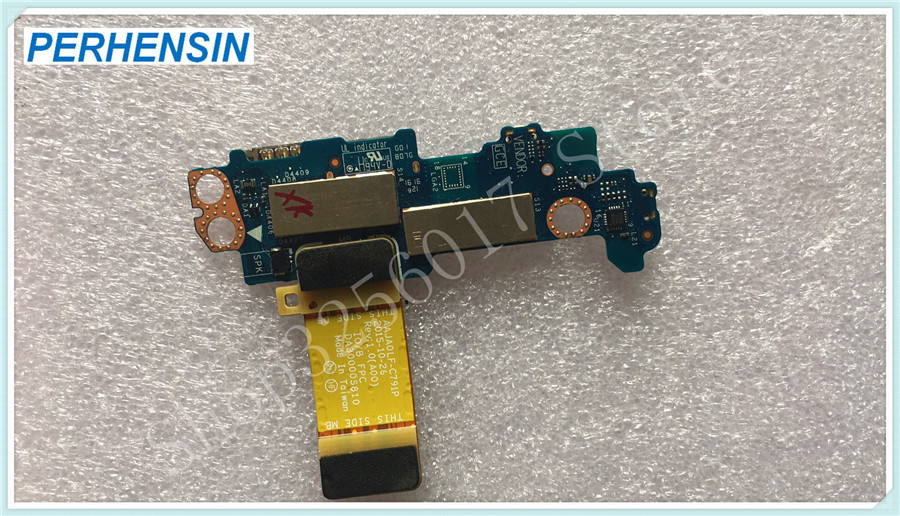 FOR Dell FOR Latitude 5175 5179 Tablet SIM SD Card Reader Power Button Daughter Circuit Board V242J 0V242J LS-C791P LF-C791P<br>