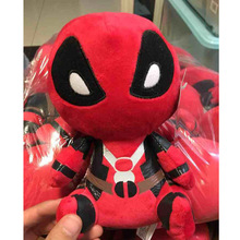 New 20cm Marvel Movie X-man Deadpool Soft FUNKO POP Spider man Plush Doll Toy action figure